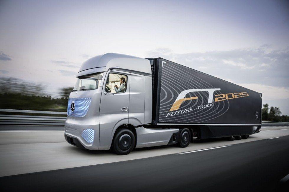 Future Truck Mercedes - veicoli industriali a guida autonoma: Freightliner Future Truck Mercedes