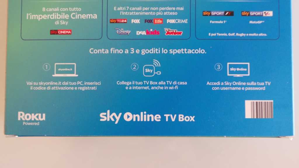 Sky Online TV Box 000 1024x576 - Unboxing Sky Online TV Box e prime impressioni