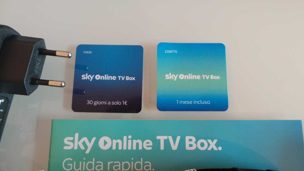 Sky Online TV Box 003 1024x576 - Unboxing Sky Online TV Box e prime impressioni