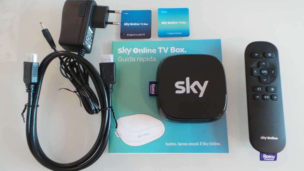 Sky Online TV Box 004 1024x576 - Unboxing Sky Online TV Box e prime impressioni