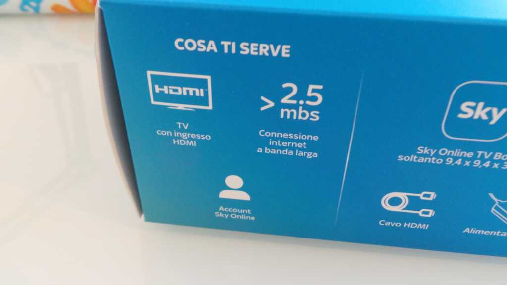 Sky Online TV Box 030 1024x576 - Unboxing Sky Online TV Box e prime impressioni