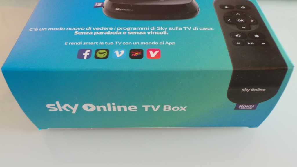 Sky Online TV Box 032 1024x576 - Unboxing Sky Online TV Box e prime impressioni