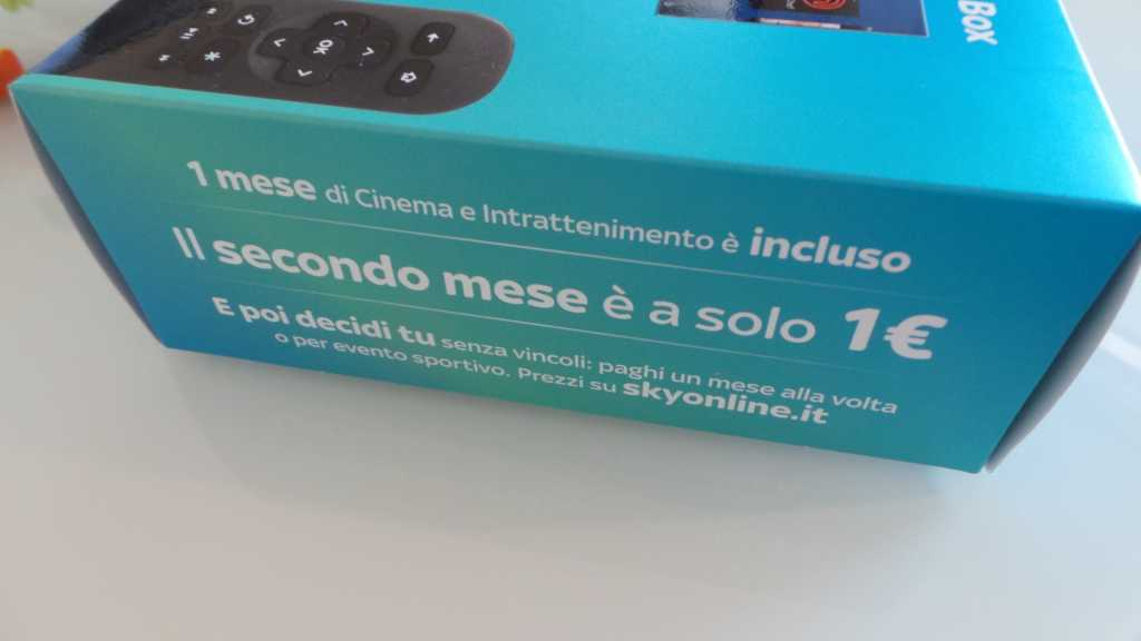 Sky Online TV Box 033 1024x576 - Unboxing Sky Online TV Box e prime impressioni