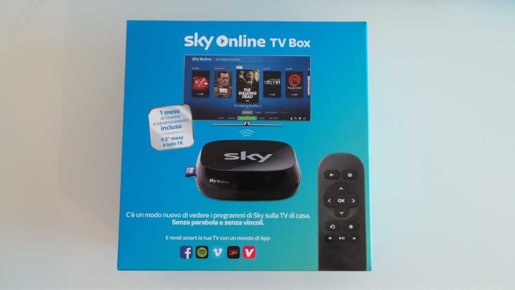 Sky Online TV Box 034 1024x576 - Unboxing Sky Online TV Box e prime impressioni
