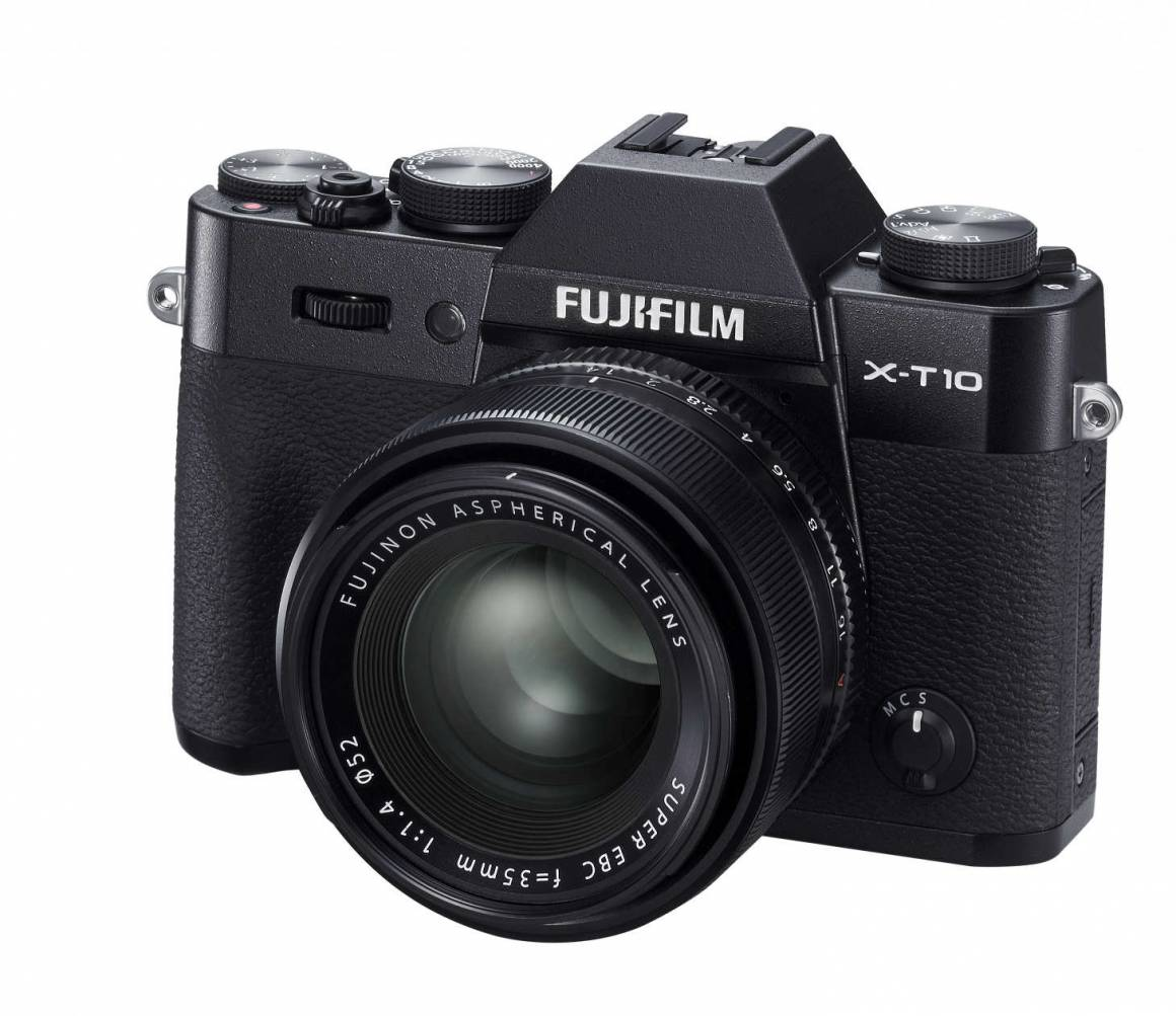 X T10 leftside black35mm r50 1160x1003 - Fotocamere FUJIFILM: la nuova X-T10