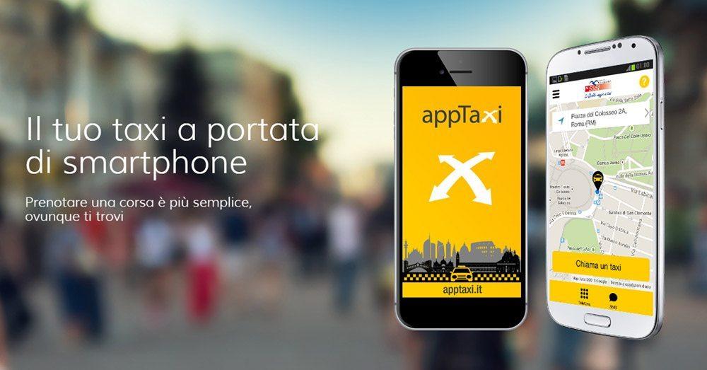 apptaxi visual - Ecco AppTaxi, la risposta dei taxi a Uber
