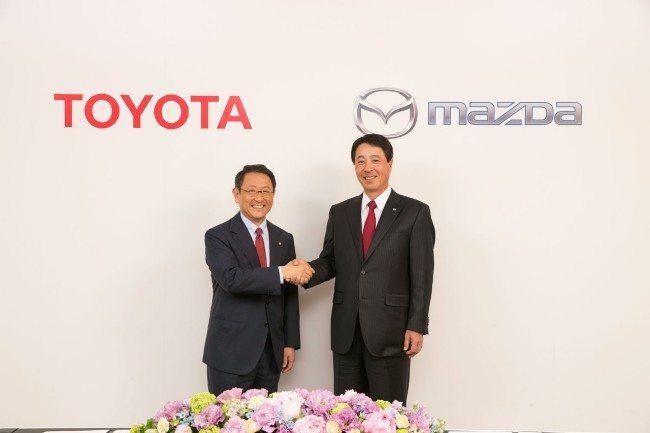 partnership tra toyota e madza - Partnership tra Toyota e Mazda: binomio vincente