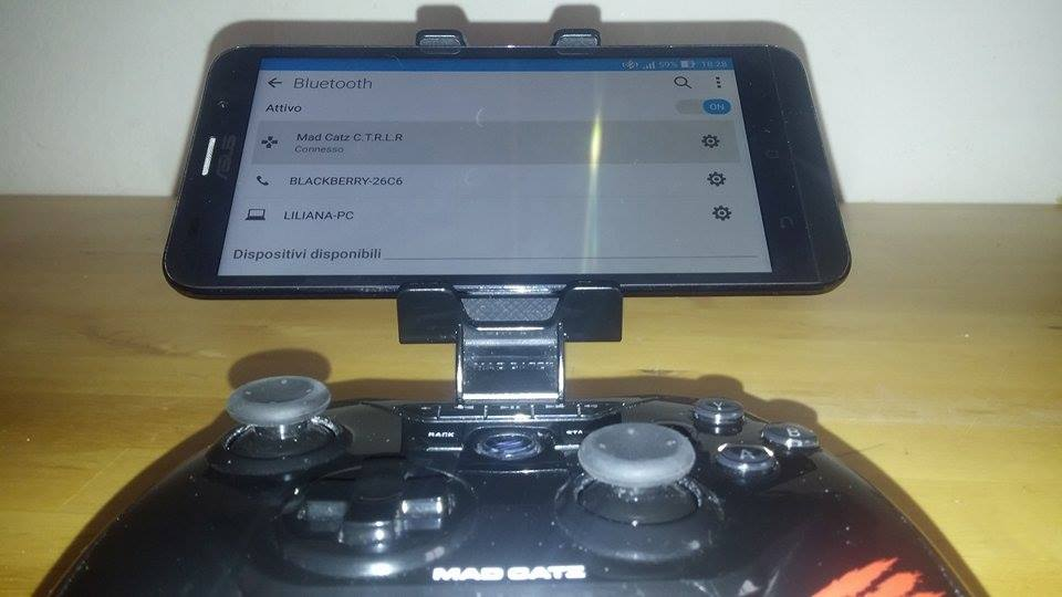 Gamepad4 - GAMEPAD BLUETOOTH MAD CATZ C.T.R.L.R PER ANDROID, IOS & PC -RECENSIONE E GUIDA