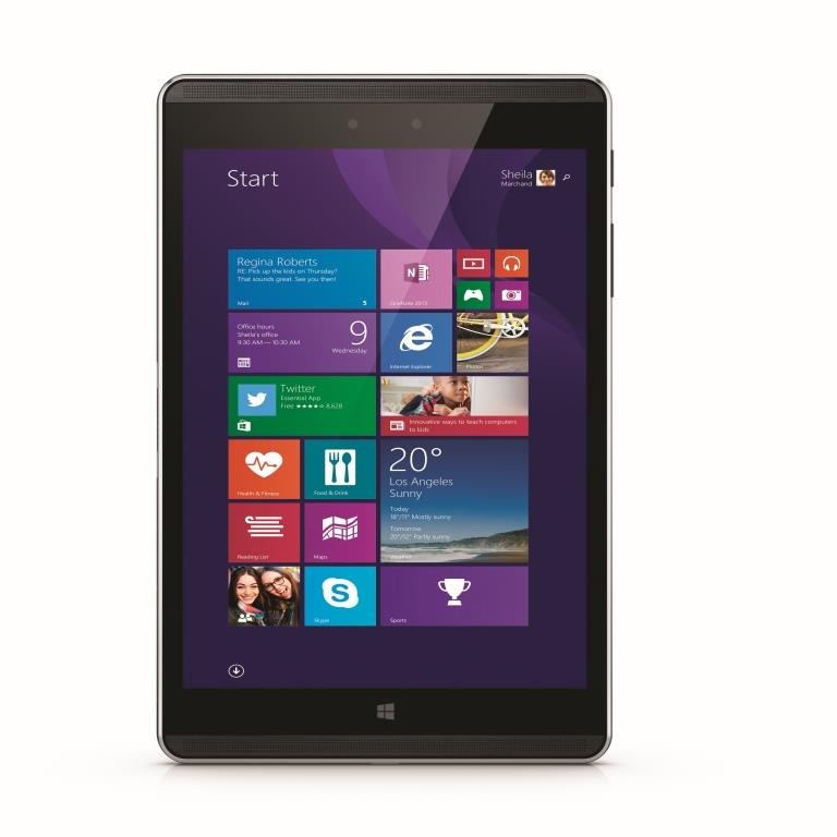 HP Pro Tablet 608 front - HP presenta il nuovo tablet Windows 10