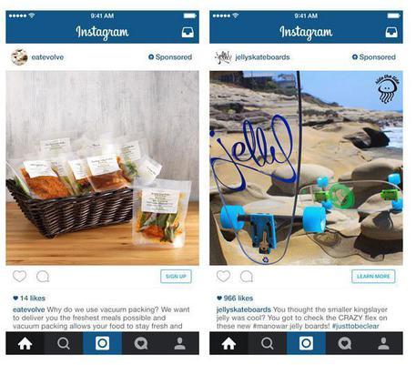 tasto 'compra' su Instagram e Pinterest