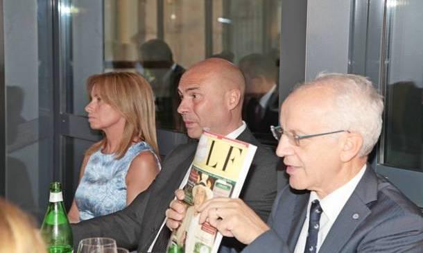 Golf People invitato alla esclusiva cena Mediolanum da Giacomo Arengario