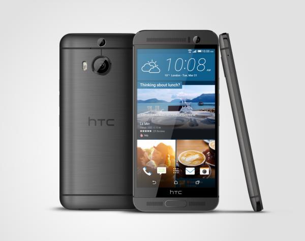 HTC One M9  3V GunMetalGray - HTC lancia in Italia HTC One M9+