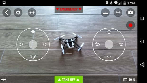 Recensione Rollin Spider app 006