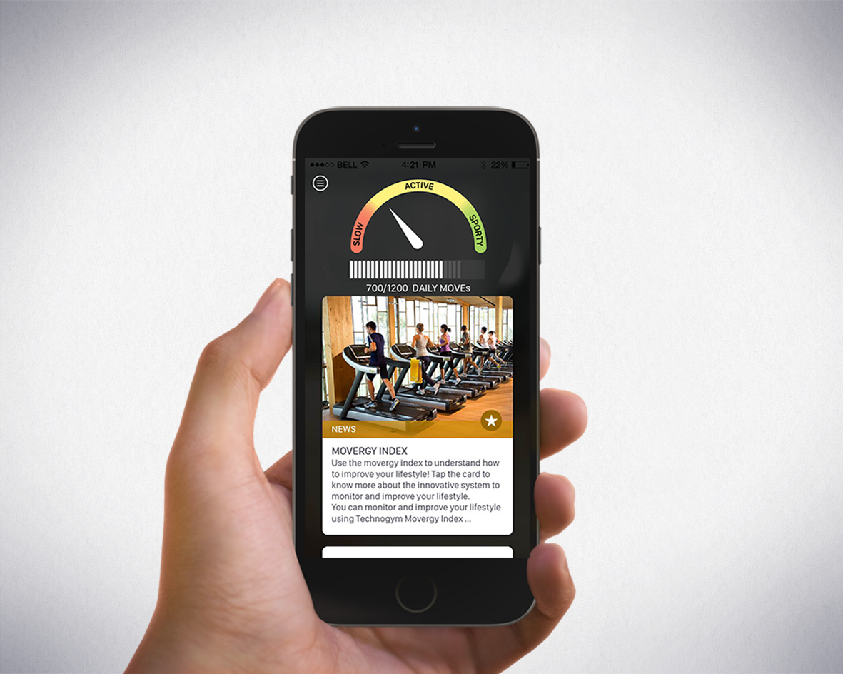Technogym app  hand - Al via la seconda edizione di Wellness Accellerator Technogym