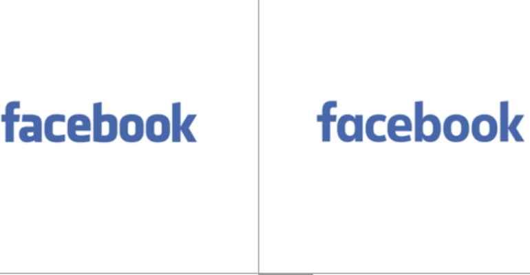 facebook logo - Cambia il logo di Facebook per mobile