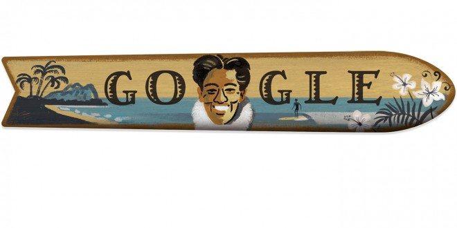 Kahanamoku - Google celebra i 125 anni di Duke Kahanamoku