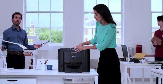 canon Maxify - Le soluzioni salvaspazio per creare il proprio ufficio a casa