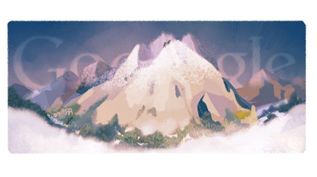 monte bianco - Google celebra  il 229° anniversario dalla prima scalata sul Monde Bianco