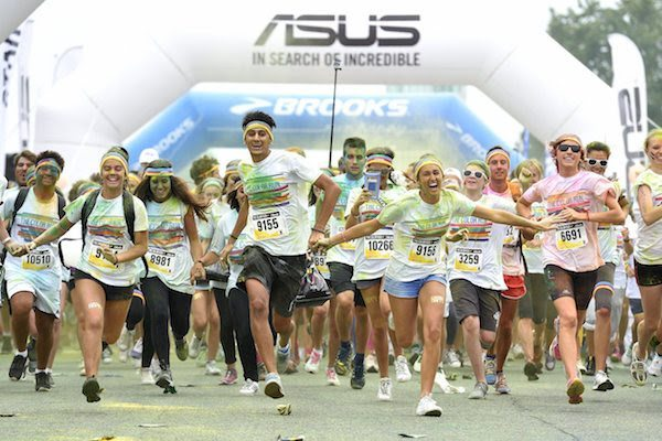 THE COLOR RUN: all'Autodromo di Monza 20 mila runner
