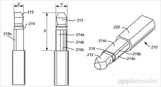14345 9825 150922 Jack l - Apple brevetta un nuovo jack per le cuffie da 2,5 mm
