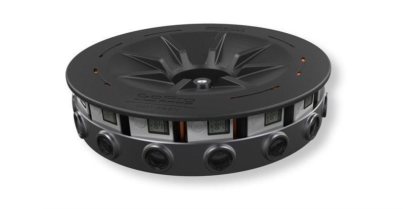 GoPro Odyssey - GoPro presenta Odyssey: video 3D a 360 gradi