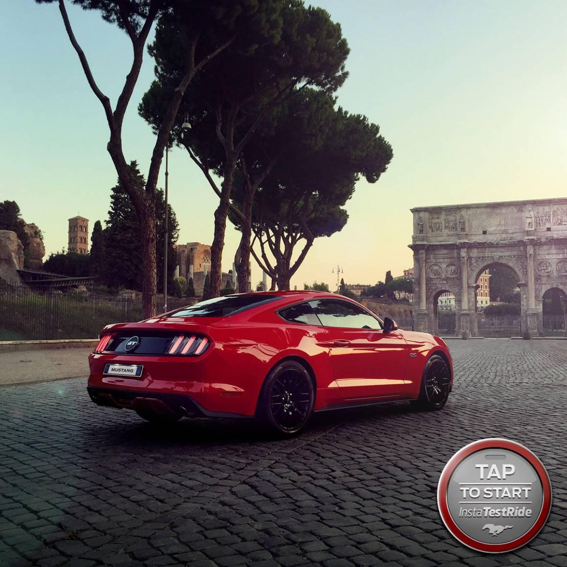 InstaTestDrive1 1160x1160 - Ford Italia lancia InstaTestDrive: il test drive della Mustang su Instagram