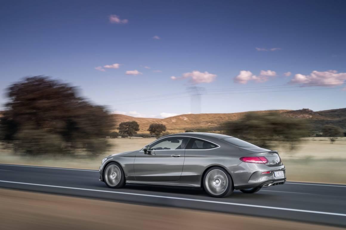 Mercedes Benz Classe C Coupe 27 1160x771 - Mercedes-Benz Cars allo IAA 2015:automobili da sogno e DigitalLife