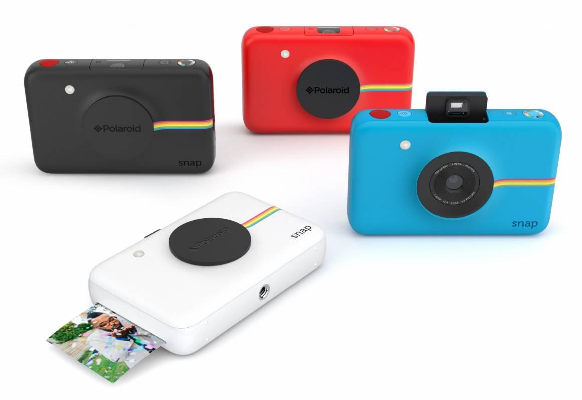 SNAP color familyLOW 1160x797 - Polaroid presenta ancia la fotocamera SNAP