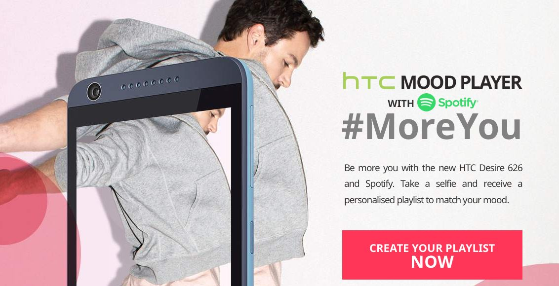Schermata 2015 09 14 alle 12.26.18 - HTC con Spotify lancia le playlist che rispecchiano l'umore