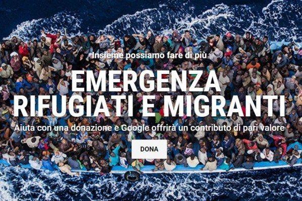 google aiuta i rigfugiati - Google aiuta i rifugiati con una donazione di 10 milioni di euro