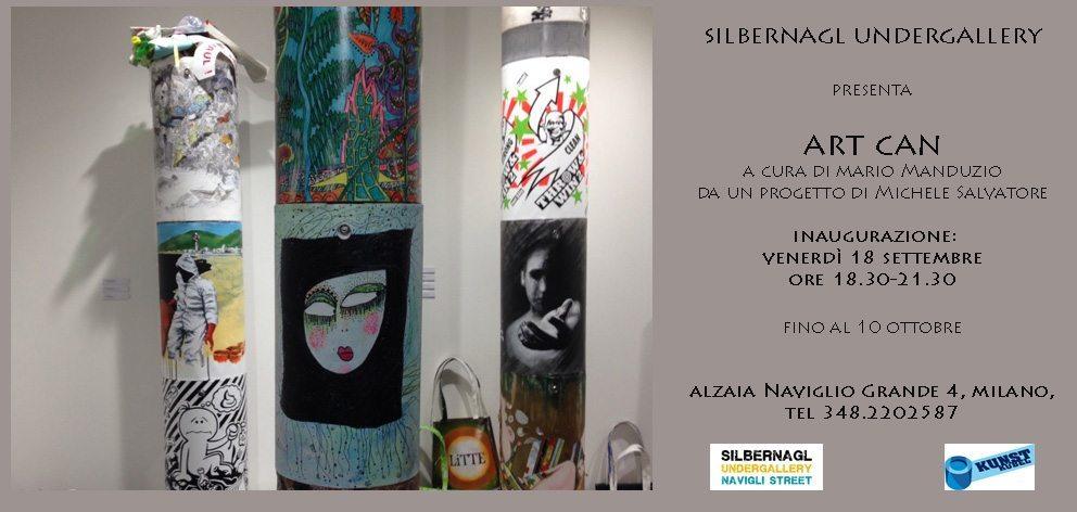 invito 2 - Art Can - Quando l'arte può fare la differenza: inaugurazione 18 settembre a Milano