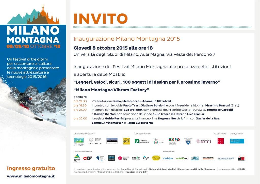 Inaugurazione Milano Montagna Vibram Factory: appuntamento per domani alle 18
