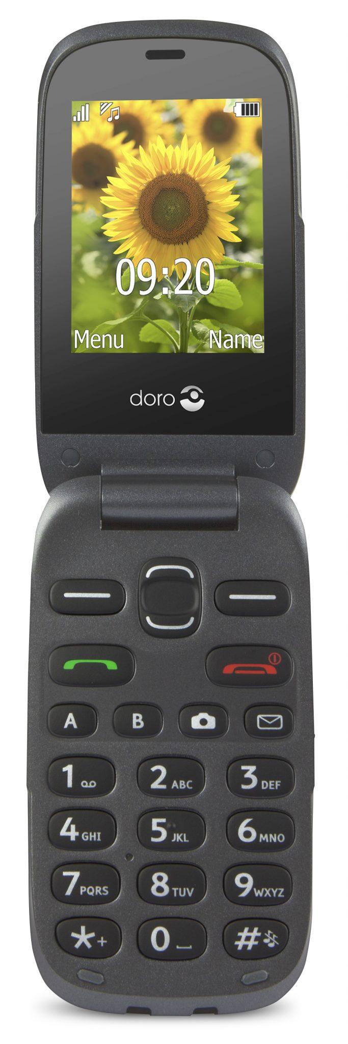 0Doro 6030 graphite graphite front - Feature phone con funzionalità semplificate: ecco Doro 6030