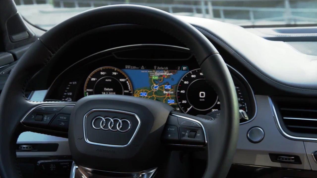 Ecco le auto che si guidano da sole di Audi presentate al CES 2017