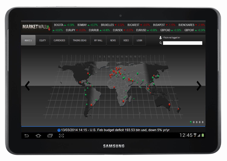 L'app MarketWall supera perfino l'app Bloomberg
