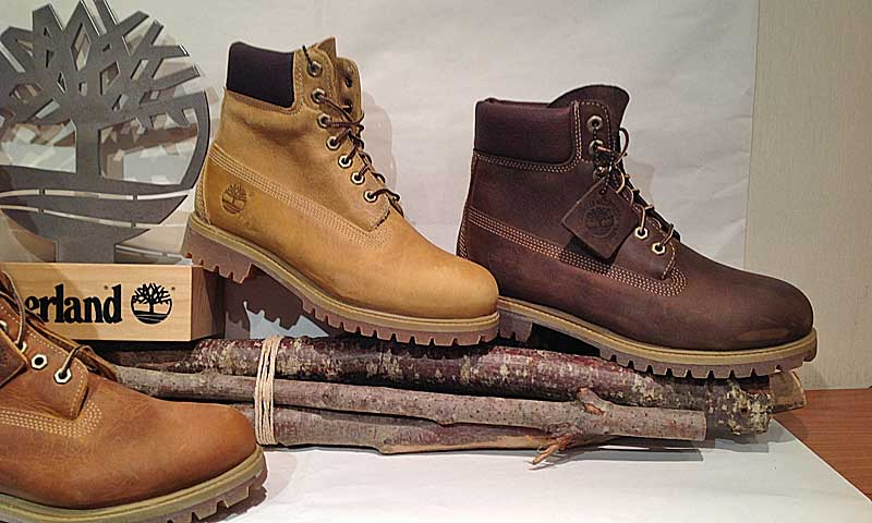 timberland cuoio