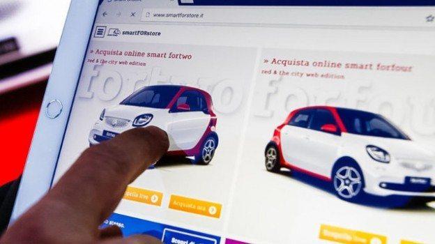 SmartForStore - SmartForStore, l'auto si compra con un click