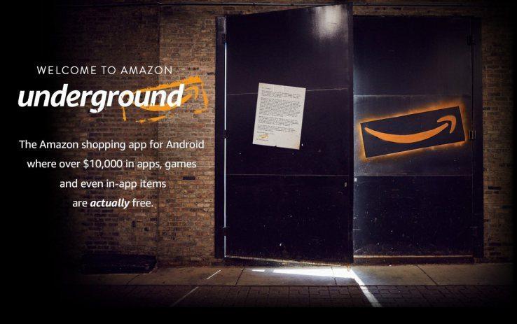 amazon underground - Amazon Underground, le app si scaricano gratis