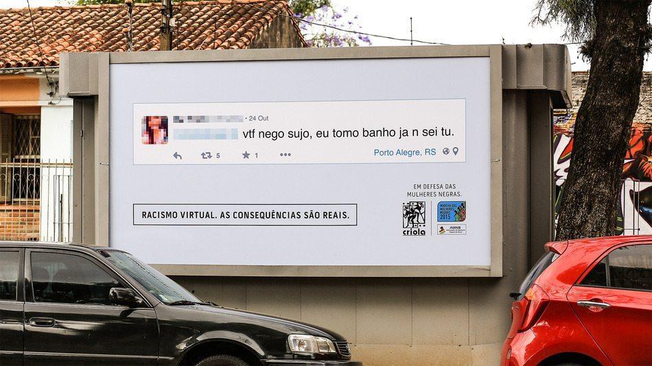 virtual racism - Brasile, la campagna Virtual racism contro il cyberbullismo