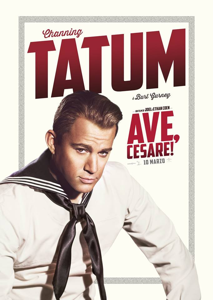 Ave Cesare Channing Tatum Teaser Character Poster Italia 01