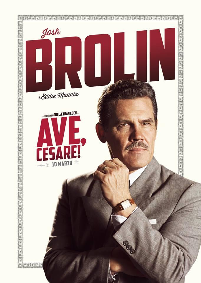 Ave Cesare Josh Brolin Teaser Character Poster Italia 01