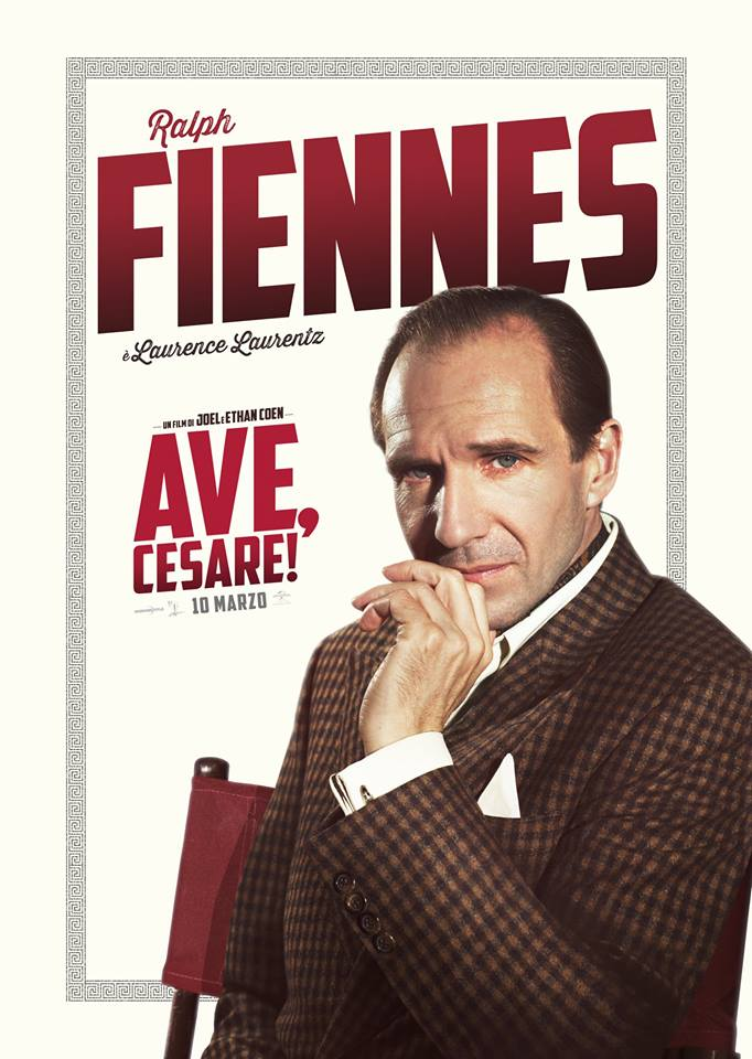 Ave Cesare Ralph Fiennes Teaser Character Poster Italia 01