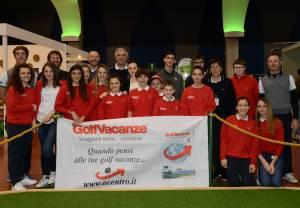 20160228 IGS Tutti i premiati della gara con i bambini e maestri di Parma Golf Academy Gianni Luni 300x208 - Italian Golf Show: i vincitori delle gare