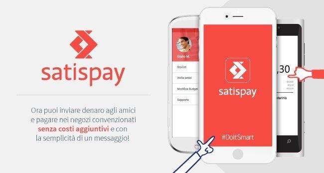 L'app Satispay rivoluziona i pagamenti elettronici