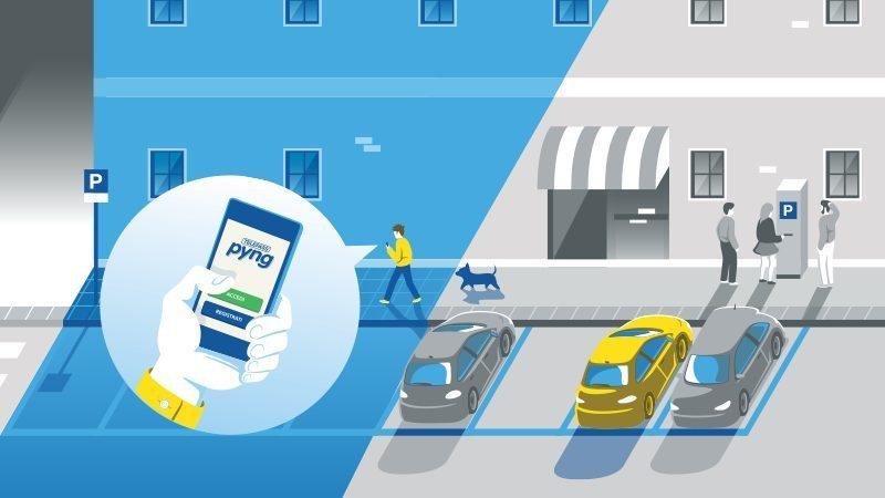 TLP pyng 800 - Telepass semplifica la vita, anche in città
