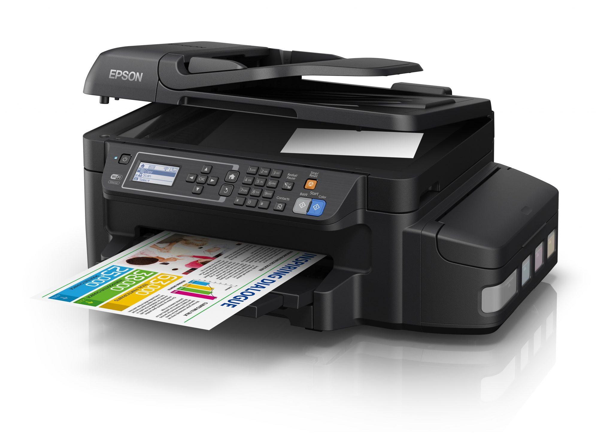 Stampanti con flaconi di inchiostro sostitutivi