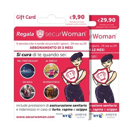 myGiftCard Securwoman - MyGiftCard contro la violenza sulle donne