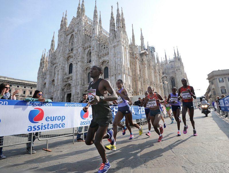 Duomo di Milano ph credits ANSA - MILANO MARATHON tutte le informazioni sulla gara e sul ritiro dei pettorali