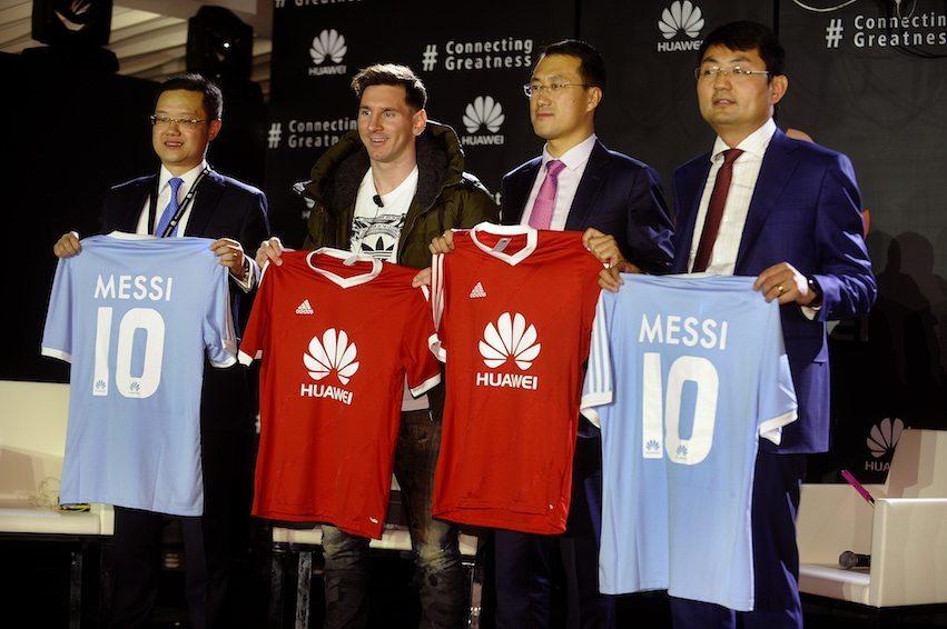 Lionel Messi ambasciatore di Huawei - Lionel Messi ambasciatore di Huawei
