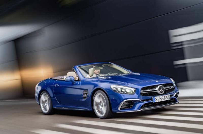 Mercedes Benz SL 6 1865803 800x530 - Nuova mercedes SL, torna la leggenda